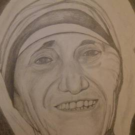Mother Teresa by Irving Starr