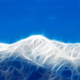 Mountain Fractalius by Maggy Marsh