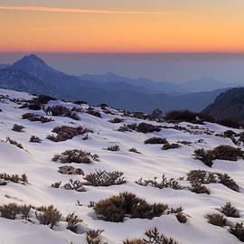 Orange sunset by Guido Montanes Castillo