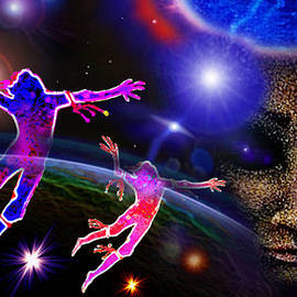 Our  Eternal  Dance 2 by Hartmut Jager