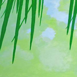 Palm Fronds by Jan Roelofs