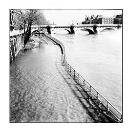 Paris Seine River. by Cyril Jayant