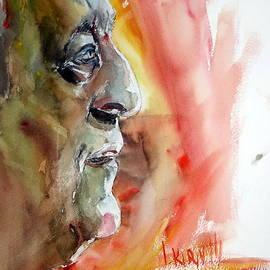 Portrait by Leonid Kirnus