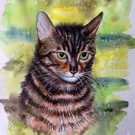 Portrait of Nes by Katerina Kovatcheva