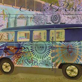 Karen Stephenson - Psychedelic Hippie Bus