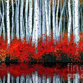 Michael Swanson - Reflections - Sold