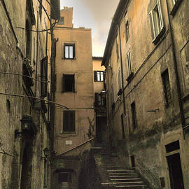 Roman Street by Daniele Zambardi