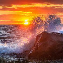 Bill Wakeley - Rough Sea