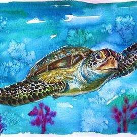 Sea turtle by Katerina Kovatcheva