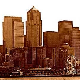 Seattle Skyline by Barbara Henry
