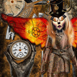Shannon Story - Steampunk Angel