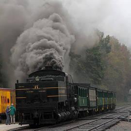 Stream Train  locomotive by Dwight Cook