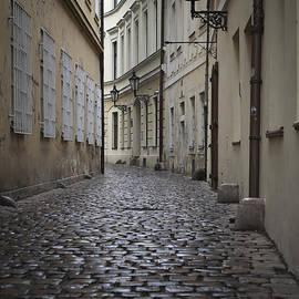 Maria Heyens - Street in Prague