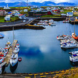 Stykkisholmur Harbor by Alexey Stiop