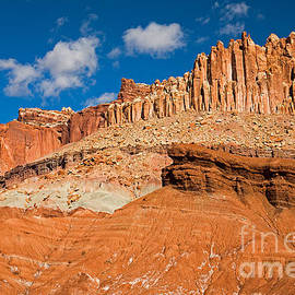 The Castle Capitol Reef National Park by Fred Stearns