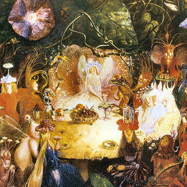 John Anster Fitzgerald - The Fairies Banquet