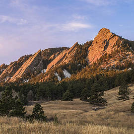The Flatirons by Aaron Spong