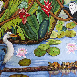 To-Tam Gerwe - The Lotus Pond hand embroidery