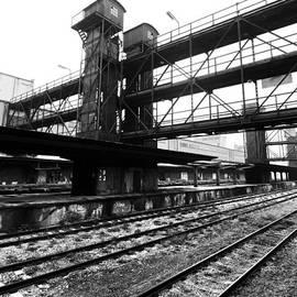 Sarka Olehlova - The old cargo railway station Zizkov in Prague