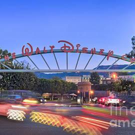 Walt Disney Animation Burbank Sunset by David Zanzinger