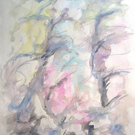 Esther Newman-Cohen - Two Trees in the Wind