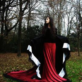 Walking with a Dark Lady by Don  Oscarez