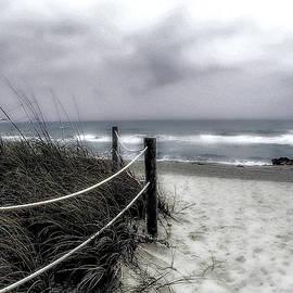 Julie Palencia - Winter Day at the Beach