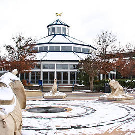 Tom and Pat Cory - Winter in Coolidge Park