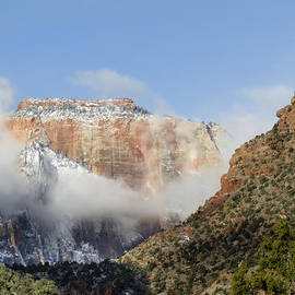 Majestic Mountains Zion National Park Utah by Patti Deters