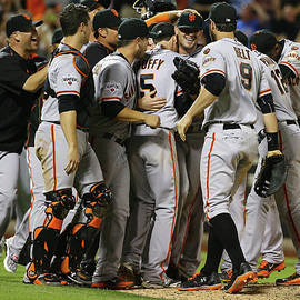 San Francisco Giants V New York Mets by Al Bello