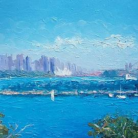 Jan Matson - Sydney Harbour and the Opera House by Jan Matson