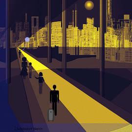 Irmgard Schoendorf Welch - 172 -  Nightwalking to the golden city