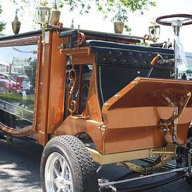 A 1852 Cunningham Hearse with 383 Chevy Stroker Engine by John Telfer