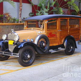 1929 Ford Model A Wagon by Mary Deal