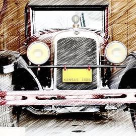 1929 Nash  by Liane Wright