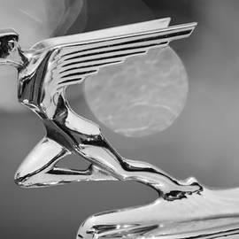 1931 Auburn 898 Boattail Speedster Hood Ornament - 3051bw by Jill Reger