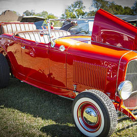 1932 Ford Roadster Automobile Classic Car In Color  3059.02 by M K Miller