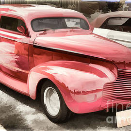 1940 Chevrolet Master Classic Painting  Color Red  3112.03 by M K Miller