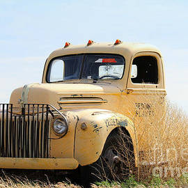 1940s Ford Flat Bed Truck by Catherine Sherman