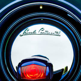 Jill Reger - 1941 Lincoln Continental Spare Tire Emblem - 1963C