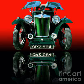 Jim Carrell - 1948 MG TC Roadster