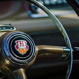 Jill Reger - 1948 Oldsmobile 98 Convertible Steering Wheel Emblem -0901c