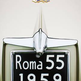 Jill Reger - 1955 Alfa Romeo 1900 CSS Ghia Aigle Cabriolet Grille Emblem - Super Sprint Emblem -0601c