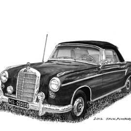 Jack Pumphrey - 1958 Mercedes Benz 220S