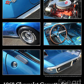 Gary Gingrich Galleries - 1968 Corvette Stringray-Blue