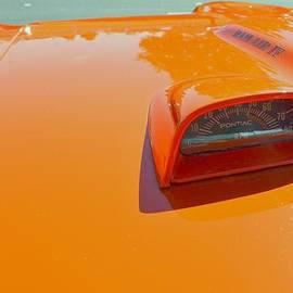 Don Struke - 1968 Pontiac GTO hood tachometer