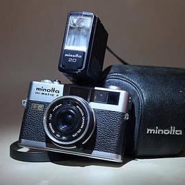 1972 Minolta Hi-Matic F Camera by John Turner