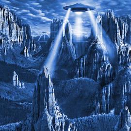 Mike McGlothlen - Alien Planet in Blue