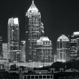 Frozen in Time Fine Art Photography - Atlanta Black and White Night