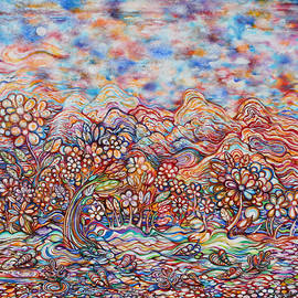Susan Schiffer - Autumn in the HIndu Kush